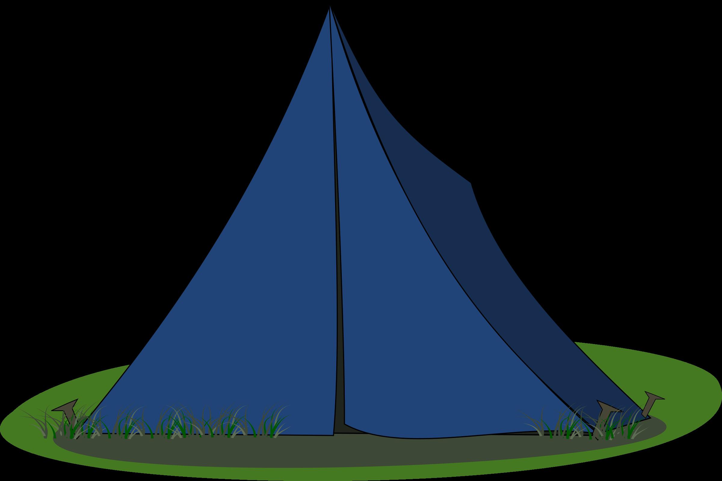 Blue png image purepng. Clipart tent encampment