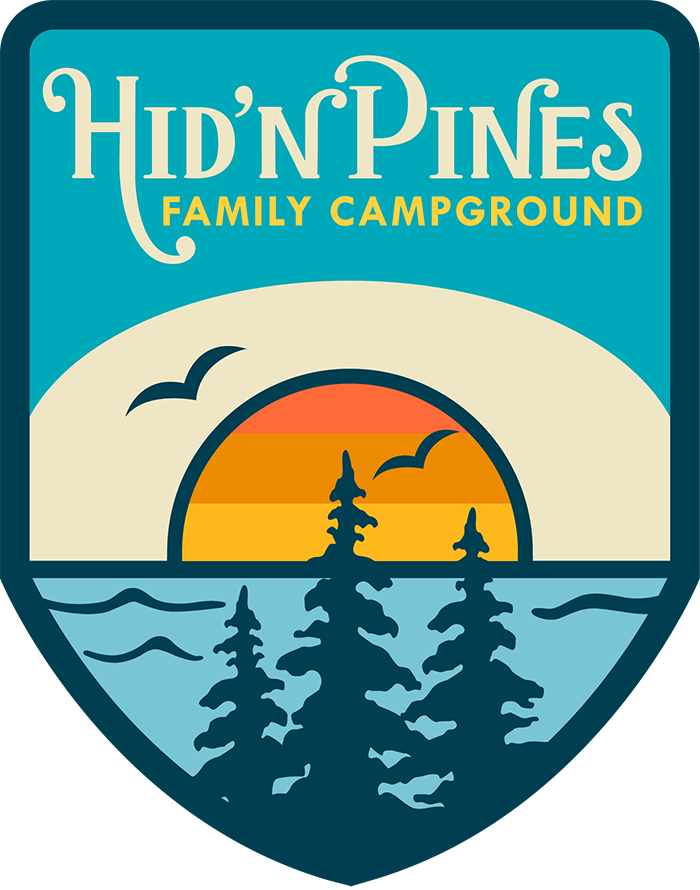 Clipart tent family camp. Hid n pines camping