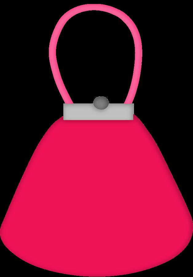 lipstick clipart purse