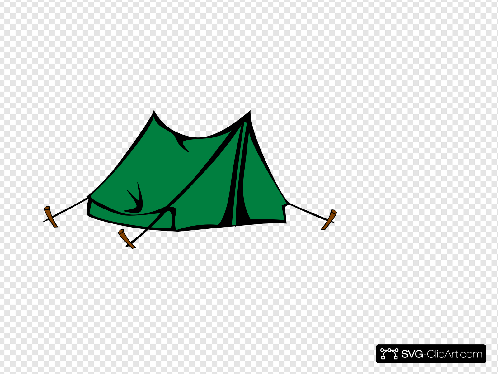 Clip art icon and. Clipart tent green tent