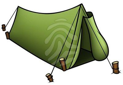 Clipart tent green tent. Clip art panda free