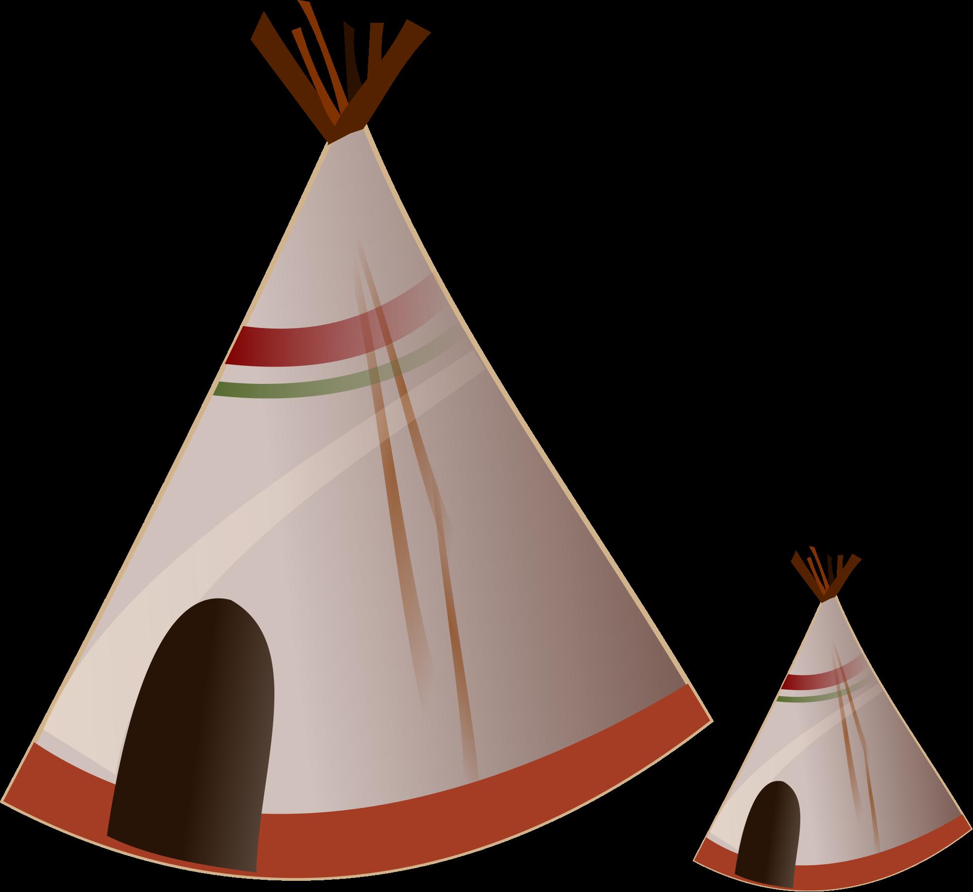 File logo tipi indien. Clipart tent hut indian