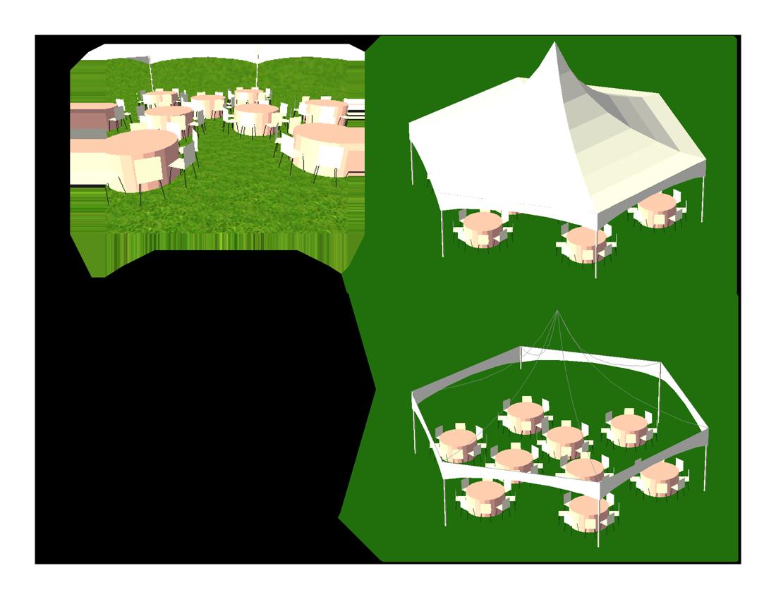x hexagon tents. Clipart tent marriage tent