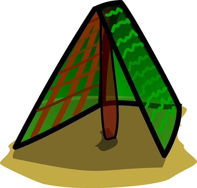 Clipart tent marriage tent. House clip art building