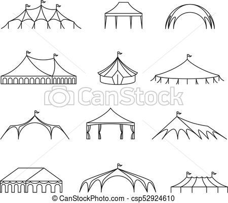 Wedding portal . Clipart tent marriage tent