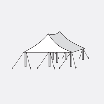Wedding rentals well dressed. Clipart tent marriage tent