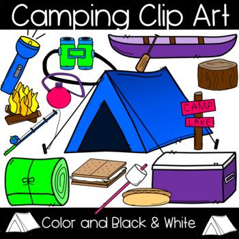 Camping clip art canoe. Clipart tent math