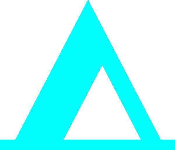 Blue clip art at. Clipart tent math
