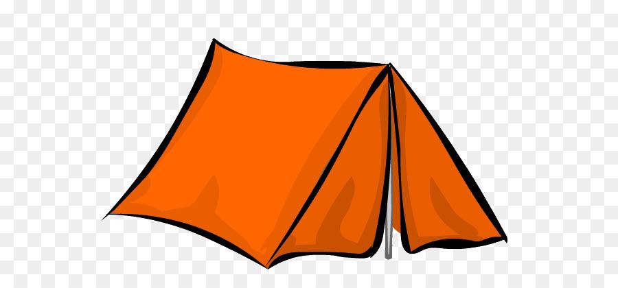 clipart tent orange tent