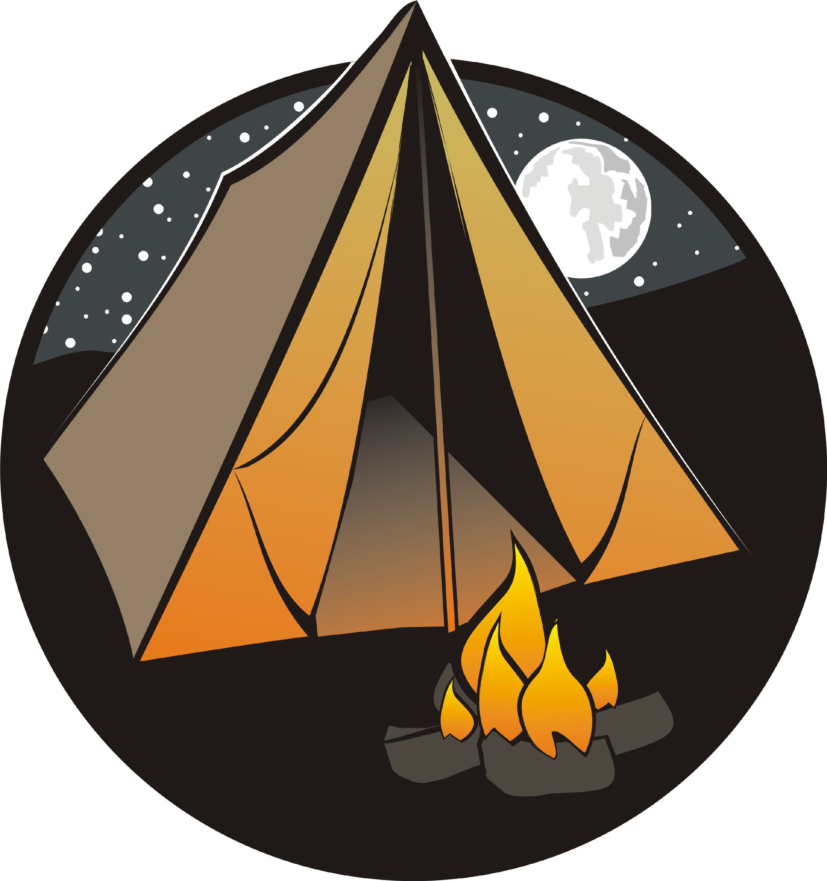 clipart tent outdoor education