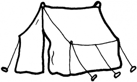 Clipart tent outline. Free cliparts download clip