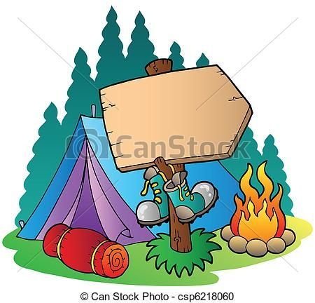 Image result for camping. Clipart tent picnic