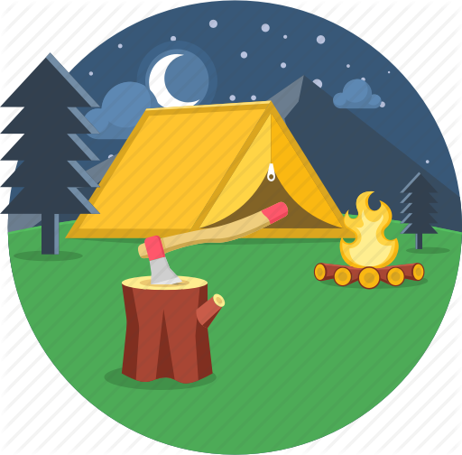 Clipart tent picnic.  camping and adventure