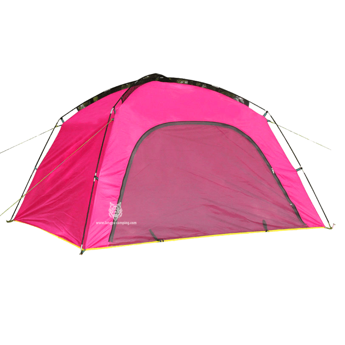 Clipart tent pink tent.  man nice color