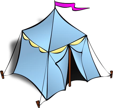 Clipart tent pyramid tent. Free clip art image