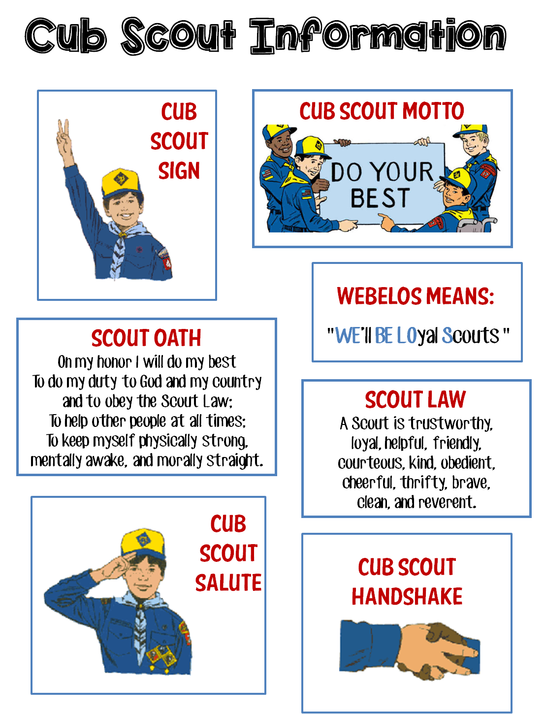 Strong armor cub scouts. Clipart tent scouting activity