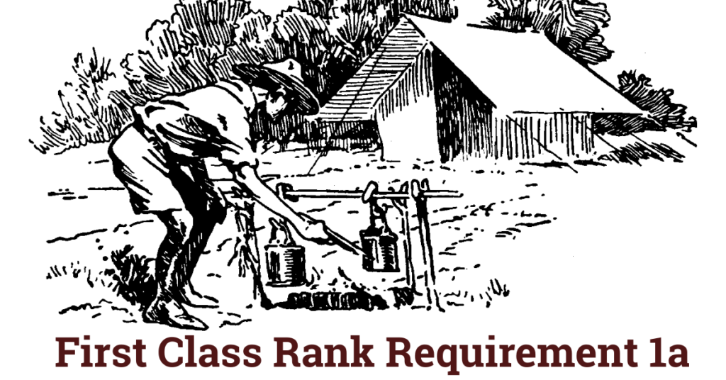 First class rank requirement. Clipart tent scouting activity