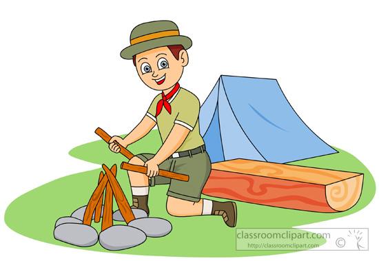 Clipart tent scouts. Free boy scout clip
