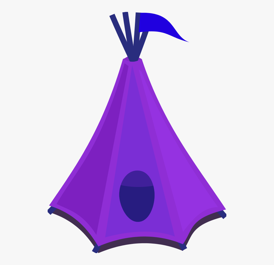 Clipart tent tant. Free images image purple