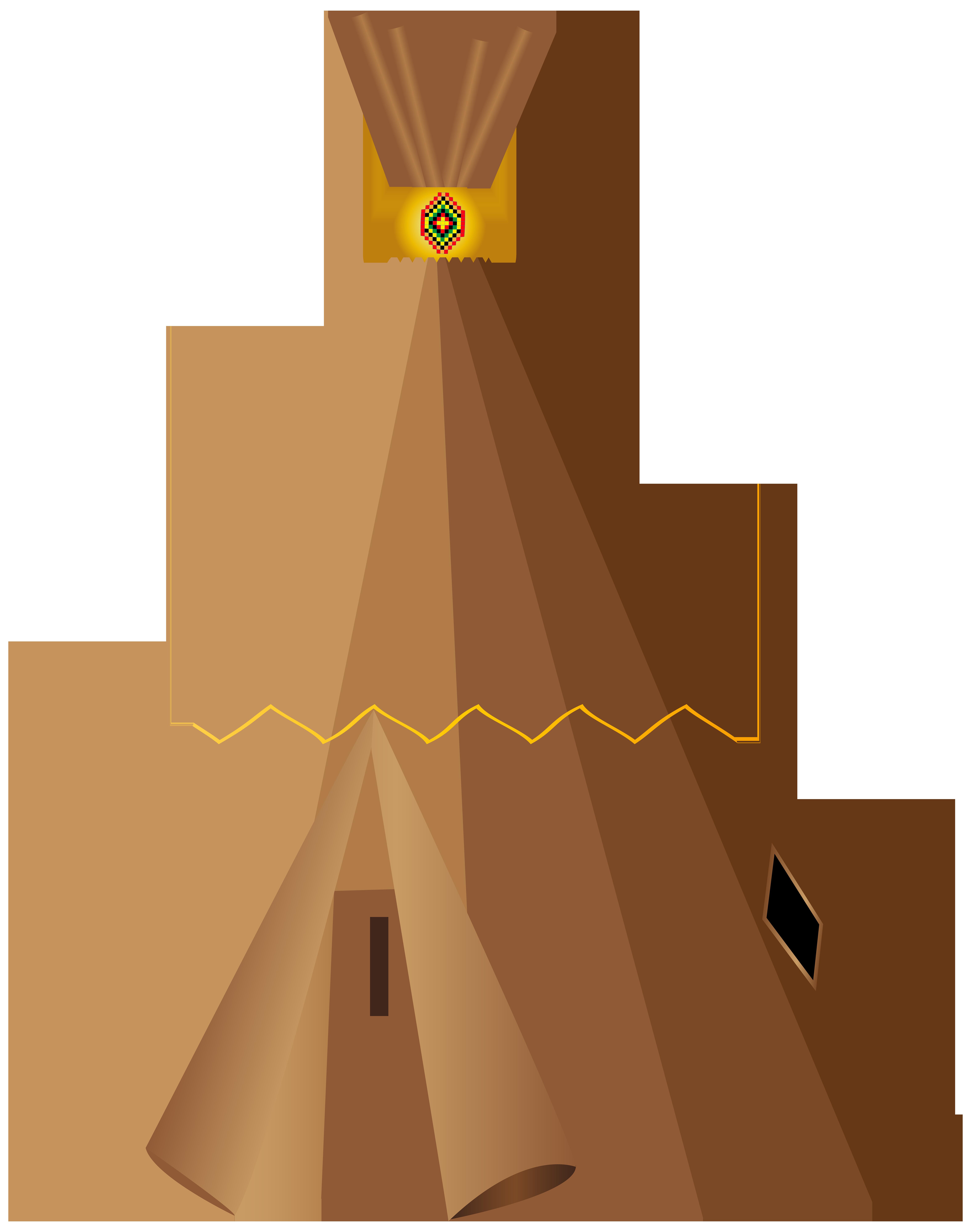 Tipi pow wow yurt. Clipart tent tee pee