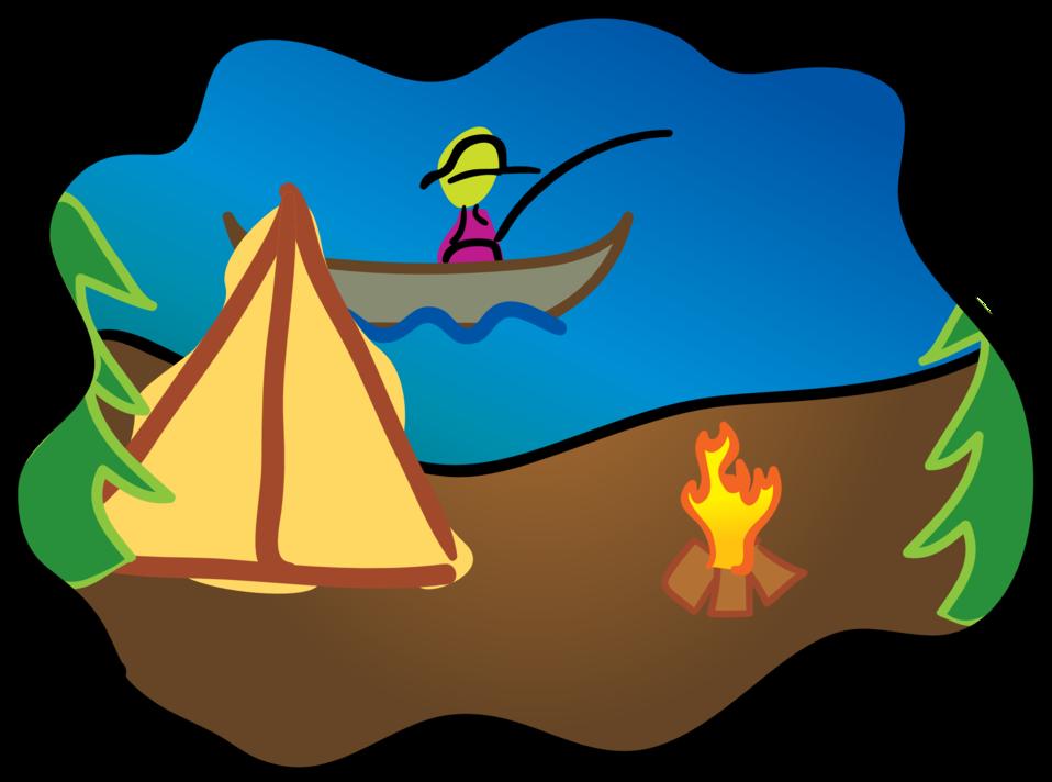 Logo clipart camp. Public domain clip art