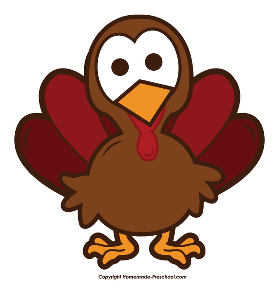 Clipart turkey.  free thanksgiving clip