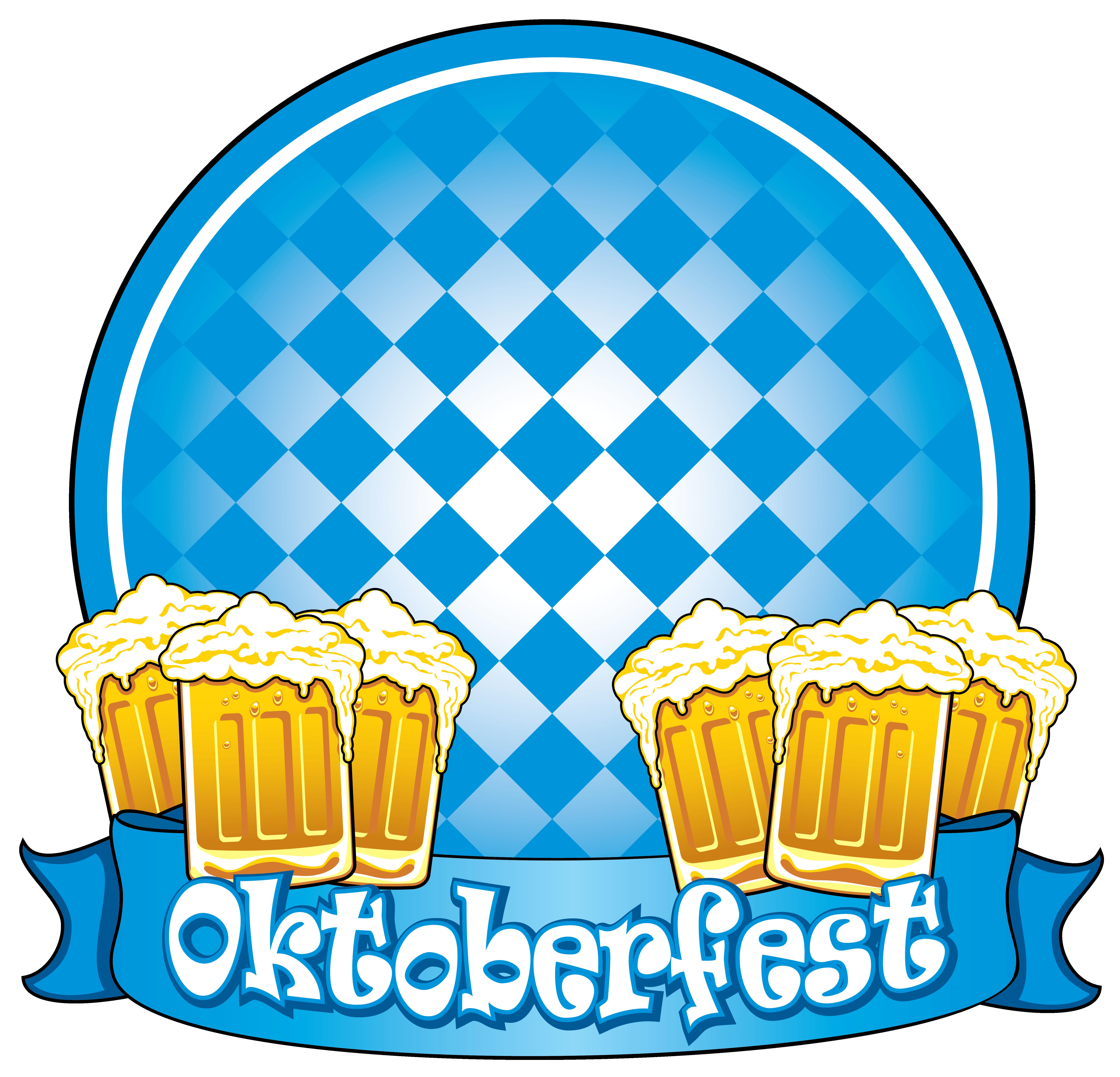 Oktoberfest blue decor with. Clipart thanksgiving bake sale