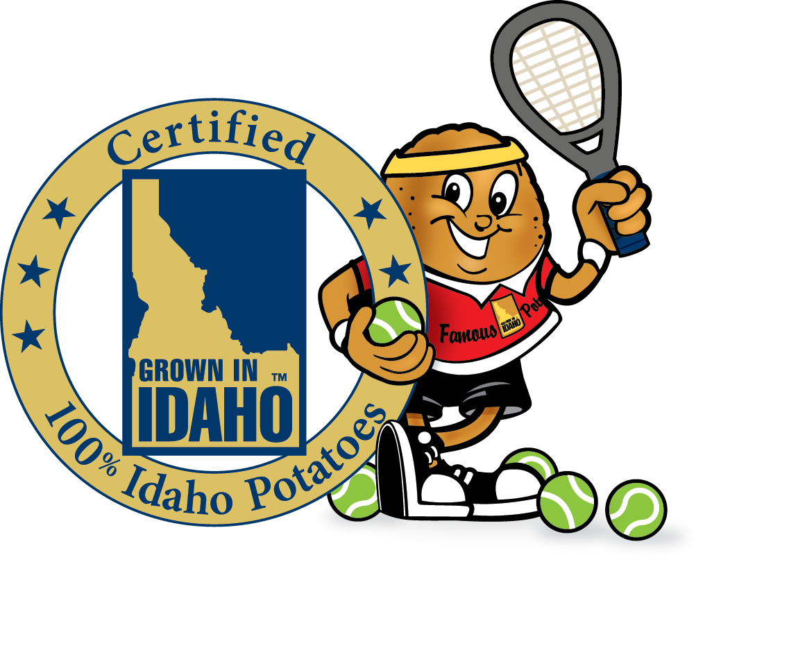 Potato clipart color. Idaho commission clip art