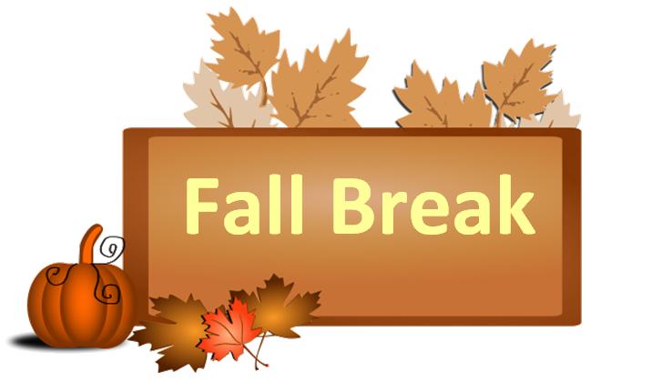 Fall no school clip. Clipart thanksgiving break
