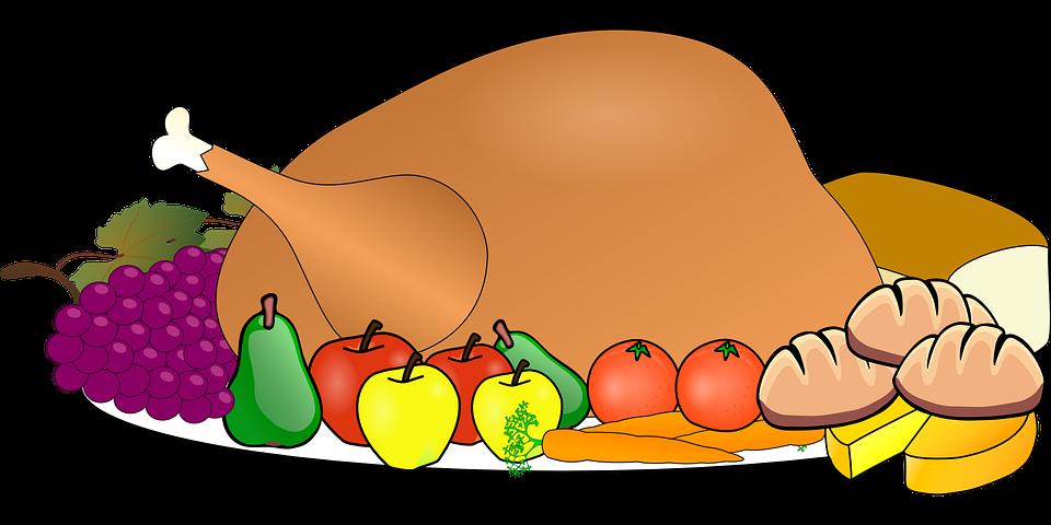 Feast clipart thanksgiving side dish. Surviving until break life