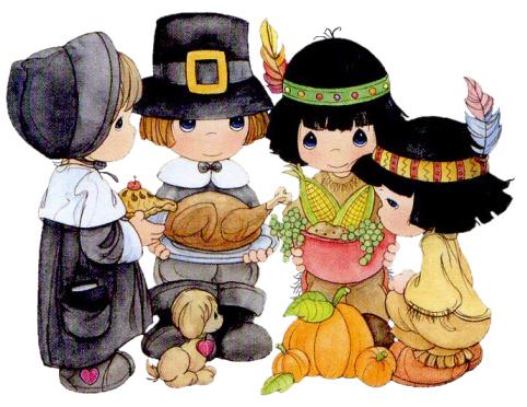 Precious moments kids cartoon. Clipart thanksgiving child
