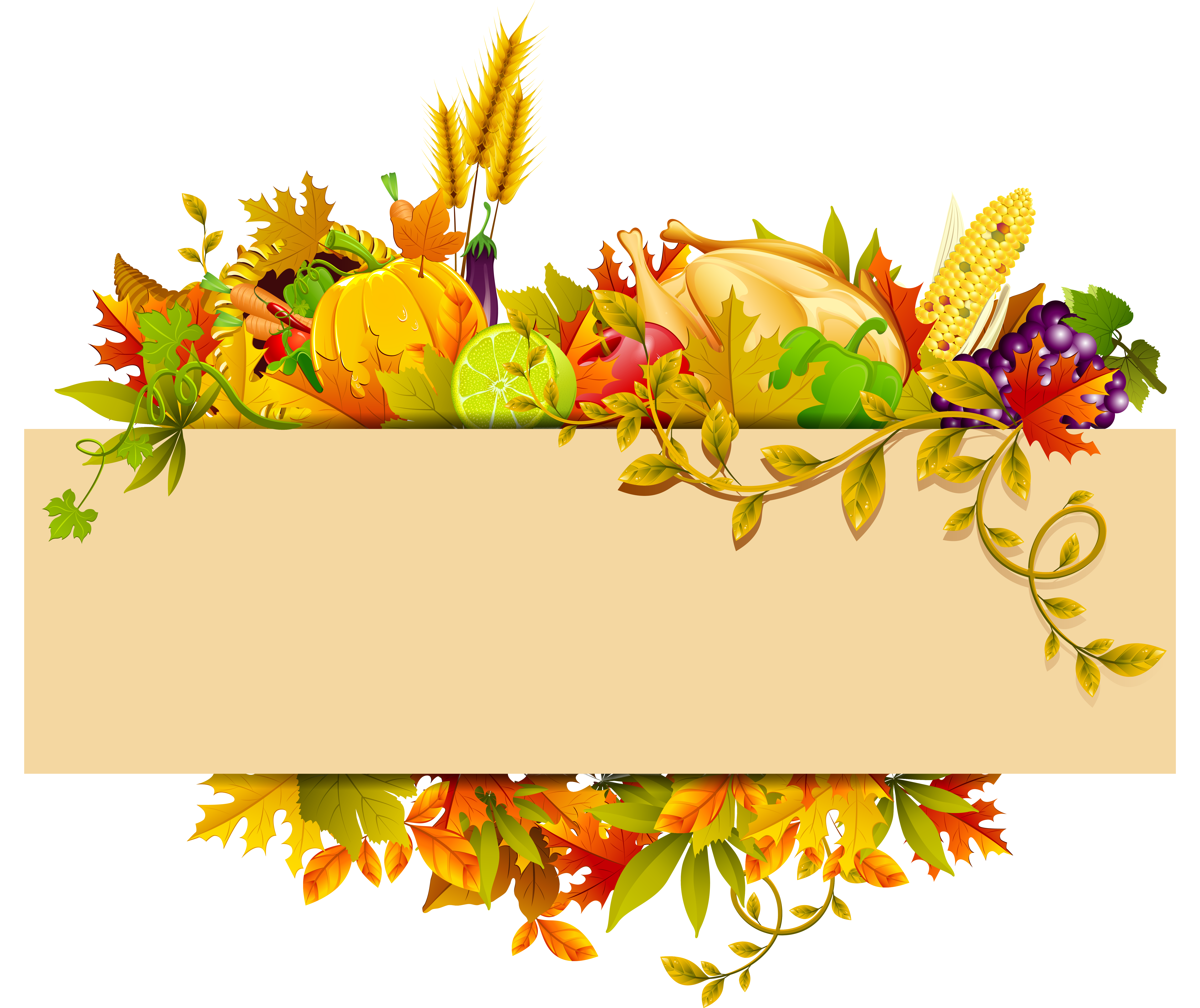 Clipart turkey decoration. Great ideas of pictures