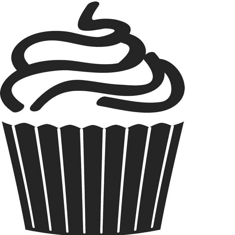 Swirl frames illustrations hd. Clipart thanksgiving cupcake