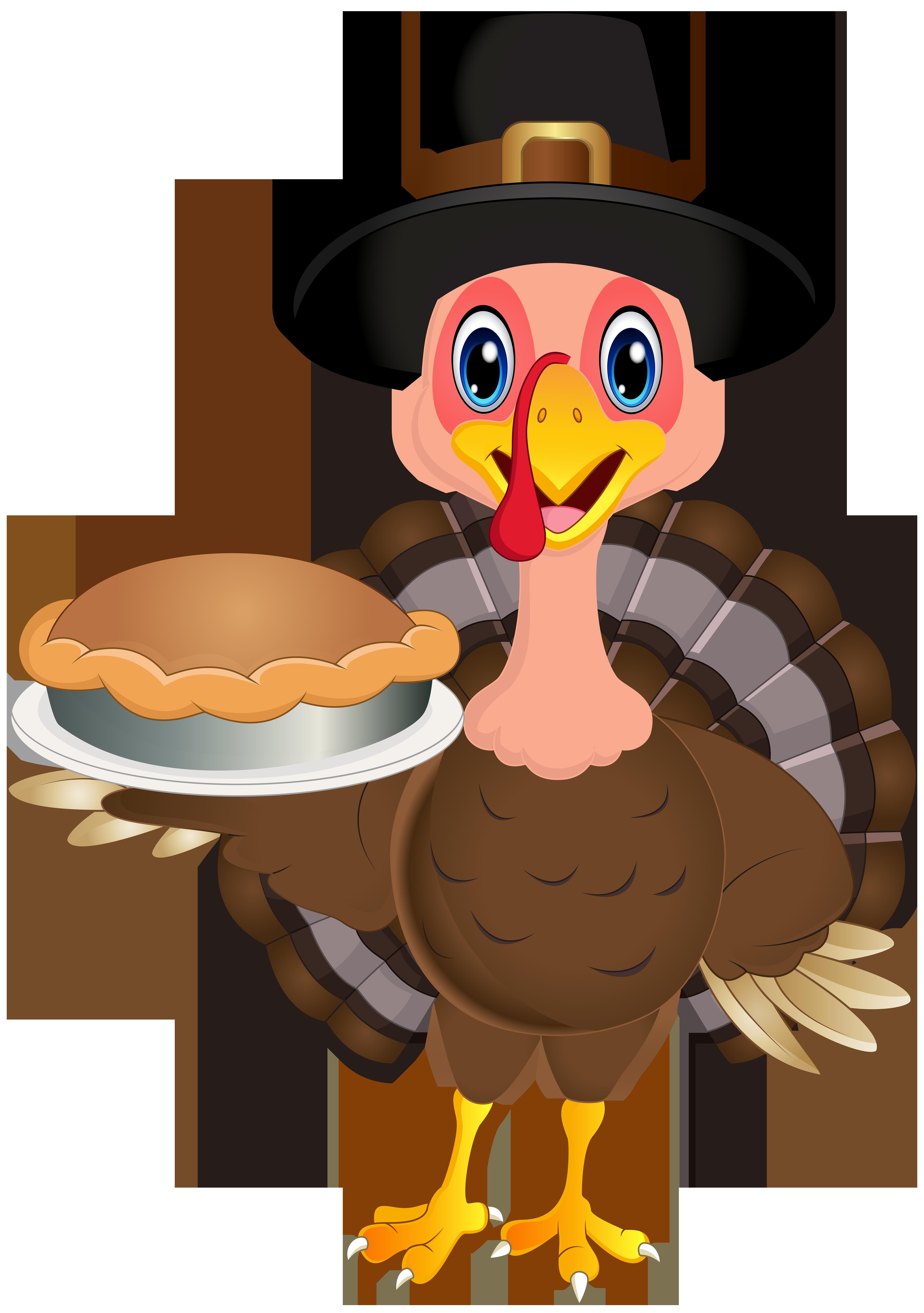 Clipart thanksgiving cute. Turkey png clip art