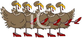 Clipart thanksgiving dance. Iclipart line dancing turkey