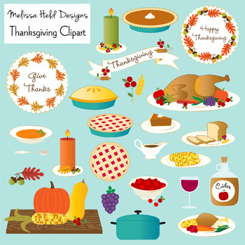 Food . Clipart thanksgiving foods