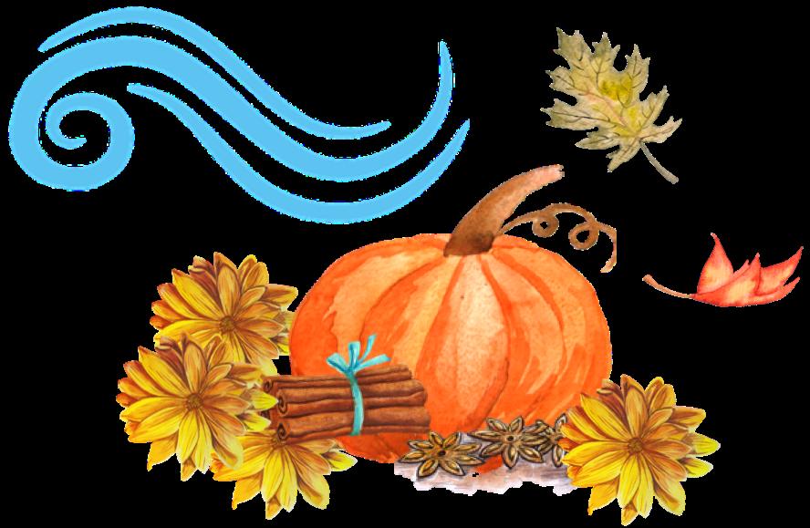 Clipart thanksgiving gourd. Divining the season lunar