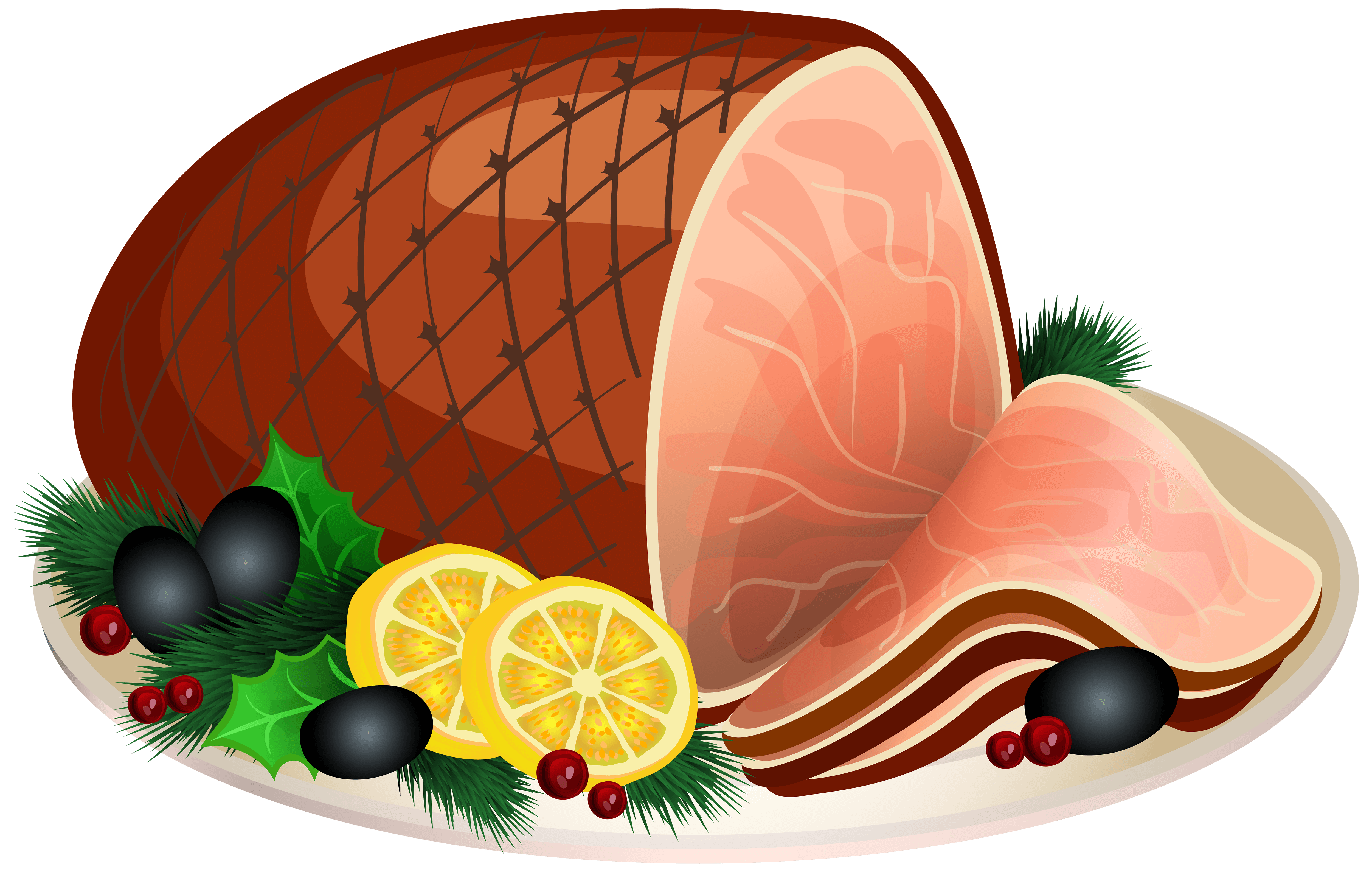 Christmas cliparts zone . Clipart thanksgiving ham
