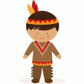 Silhouette design store view. Clipart thanksgiving indians