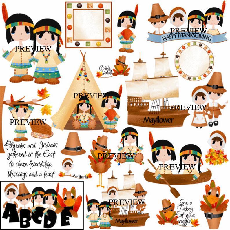 Clip art indian graphics. Mayflower clipart pilgrim family