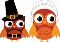 Clip art arts for. Owls clipart thanksgiving