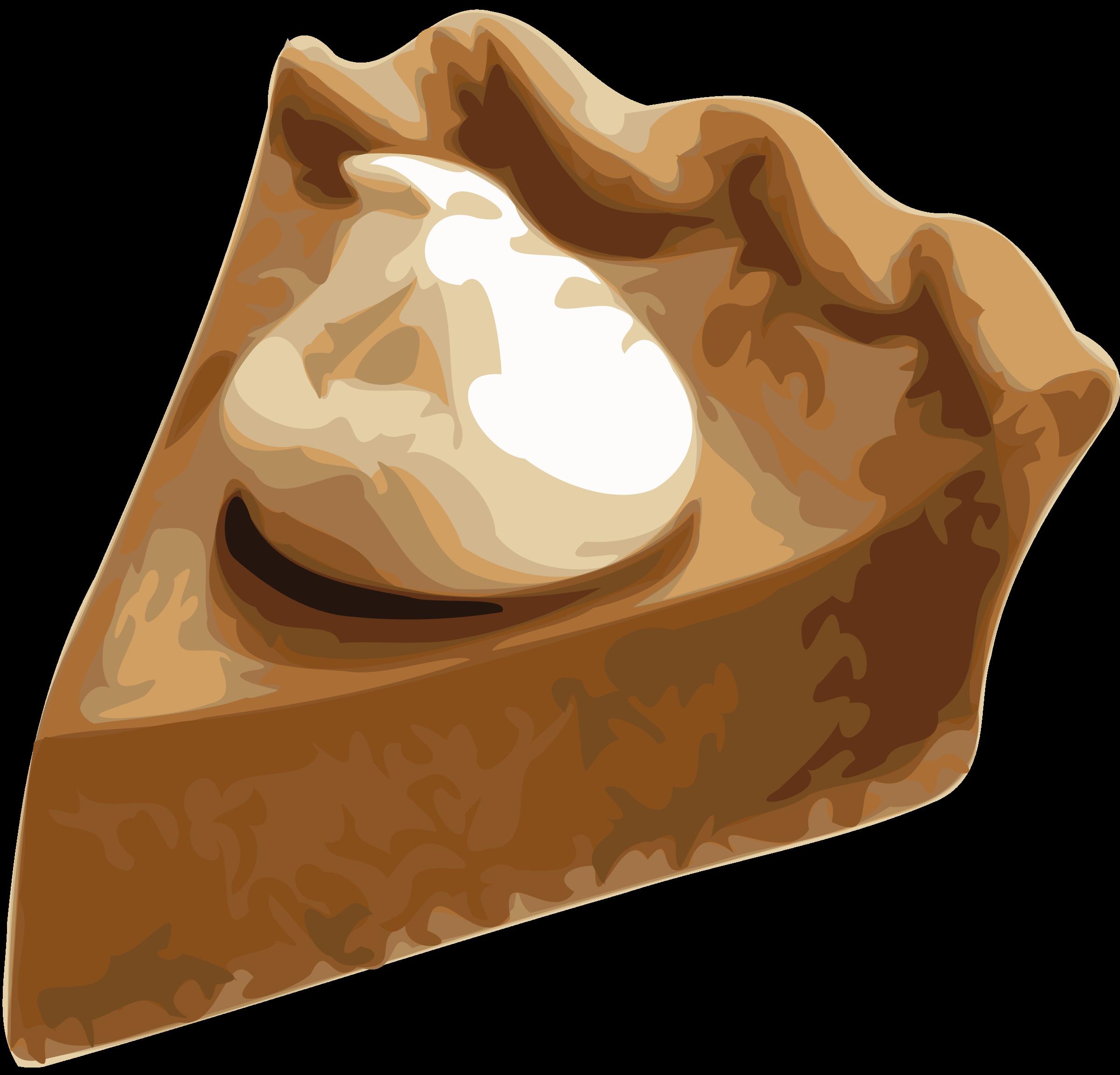 Slice big image png. Pie clipart pumpkin pie