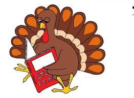 Image result for turkey. Clipart thanksgiving reading