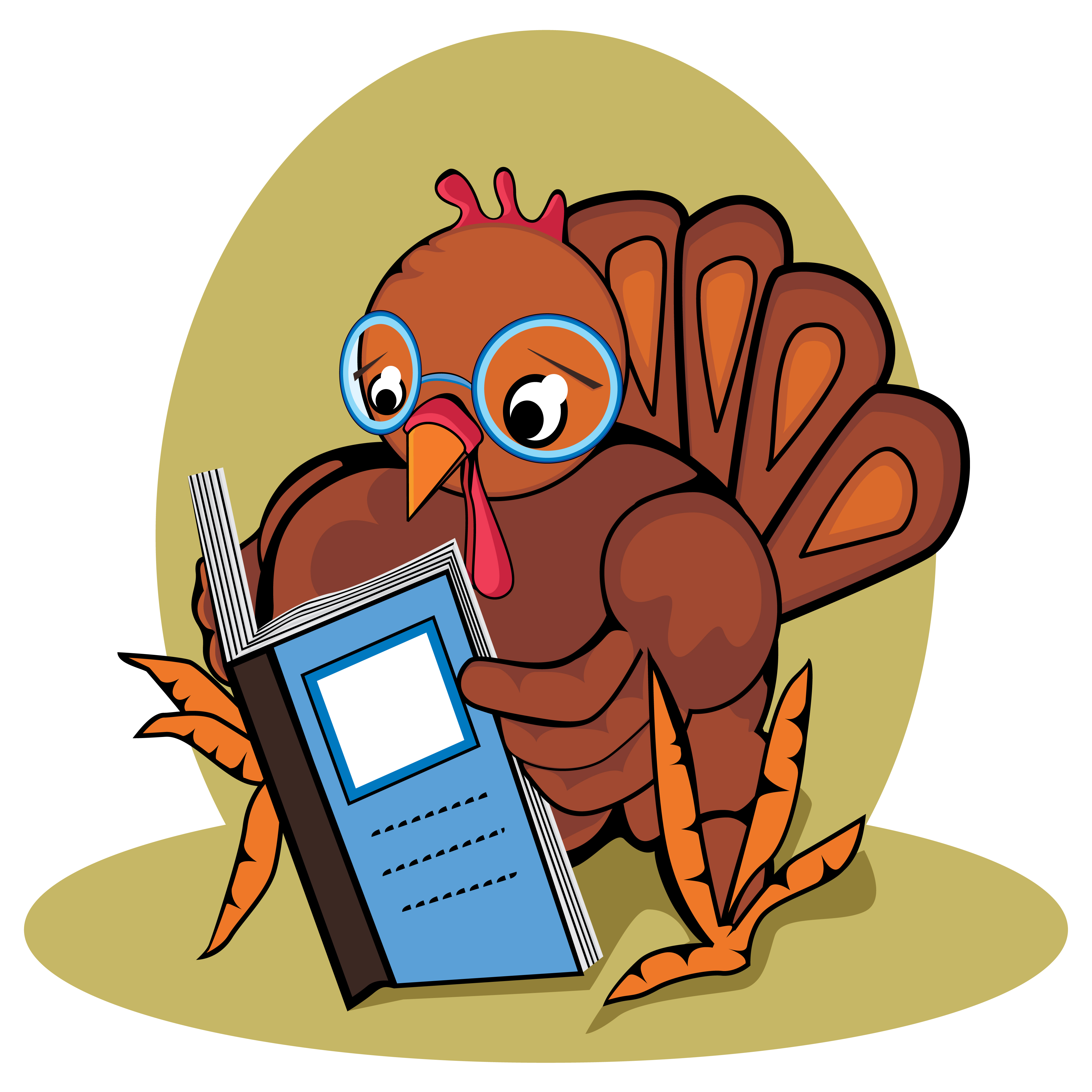 Clipart thanksgiving reading.