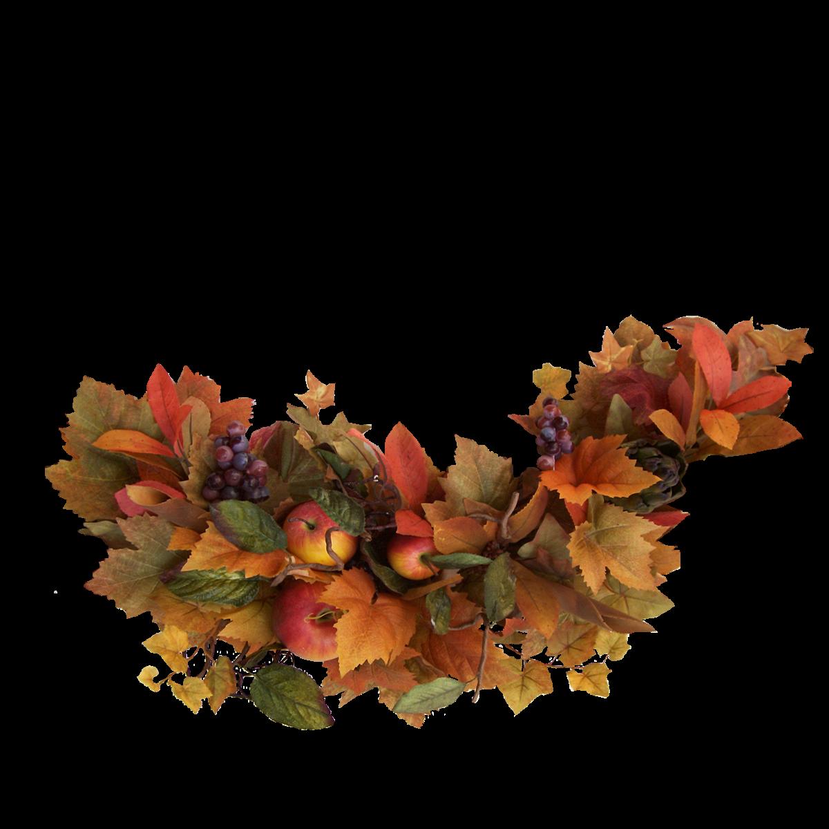 Leaf clipart thanksgiving. Digital scrapbooking clip art