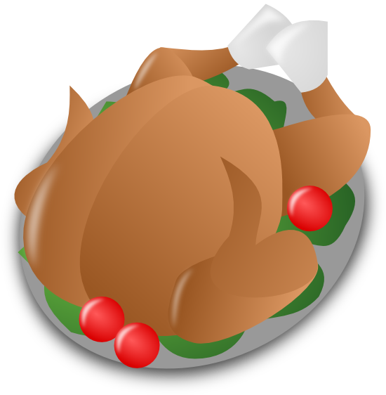 Wing clipart turkey wing. Free and animations on