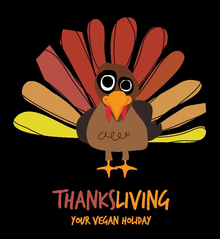 Happy thanksliving mr mrs. Clipart thanksgiving vegan
