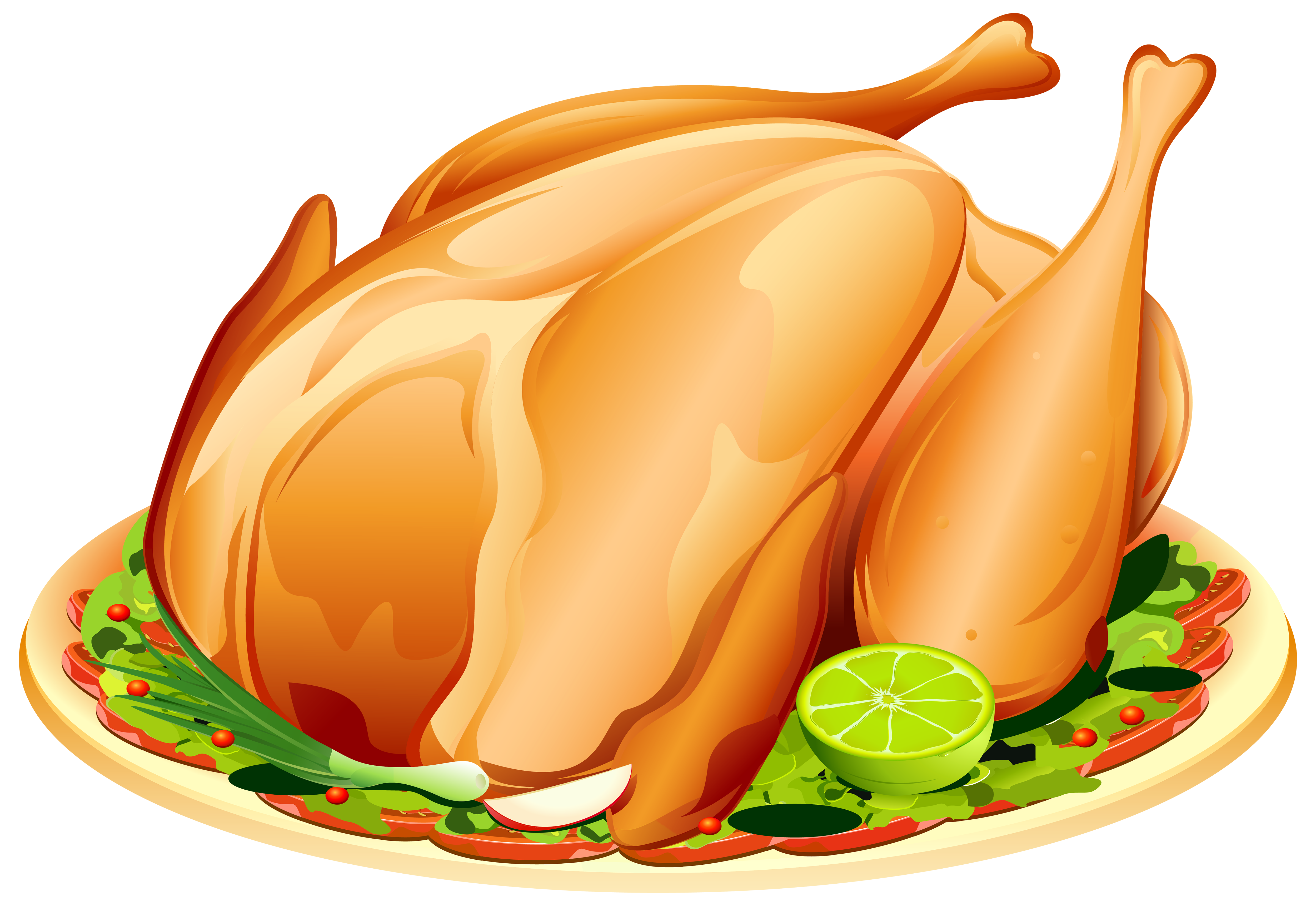 Roast turkey png image. Ham clipart christmas lunch
