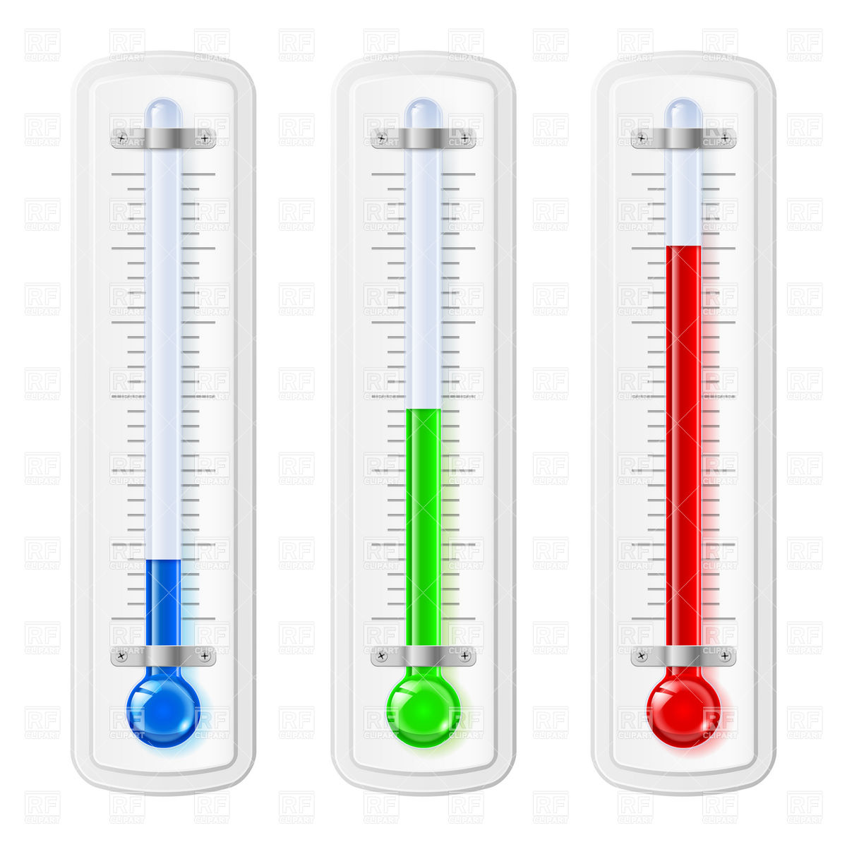 Hot and cold free. Clipart thermometer air temperature