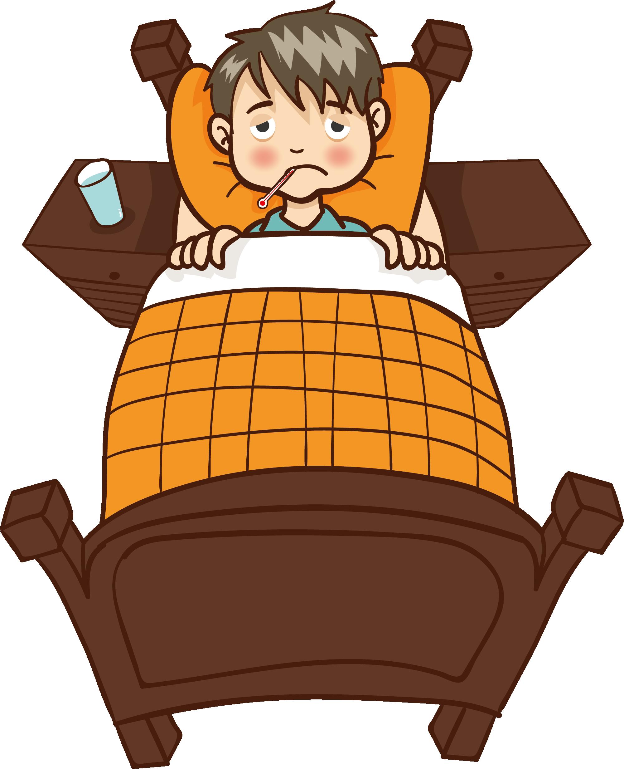 Clipart thermometer cartoon food. Child body temperature sick